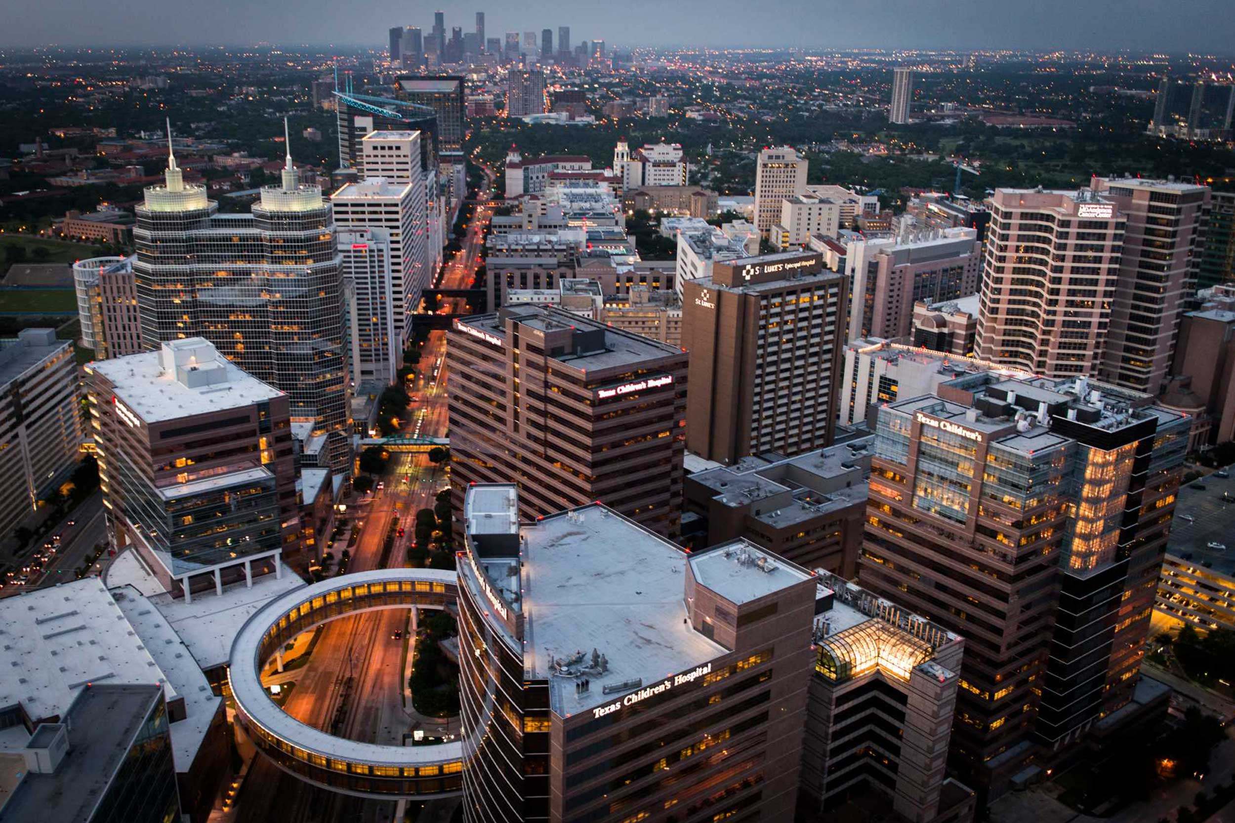 http://Aerial%20view%20of%20Texas%20Medical%20Center%20in%20Houston,%20Texas