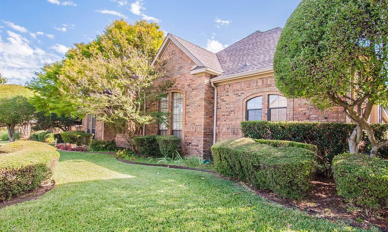 A brick home in Waco, Texas