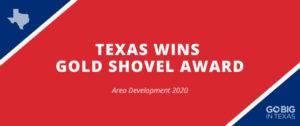 News 2020 Gold Shovel Award