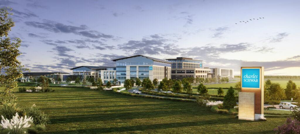 Charles Schwab campus in Westlake, Texas
